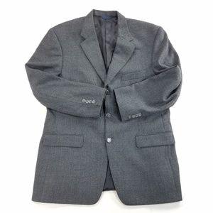 Burberry London Tweed Wool Sports Coat Suit Blazer
